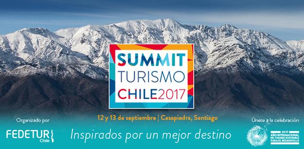 """30 expositores nacionales e internacionales se darán cita  en el primer gran """"Summit de Turismo"""" que se realiza en Chile"""