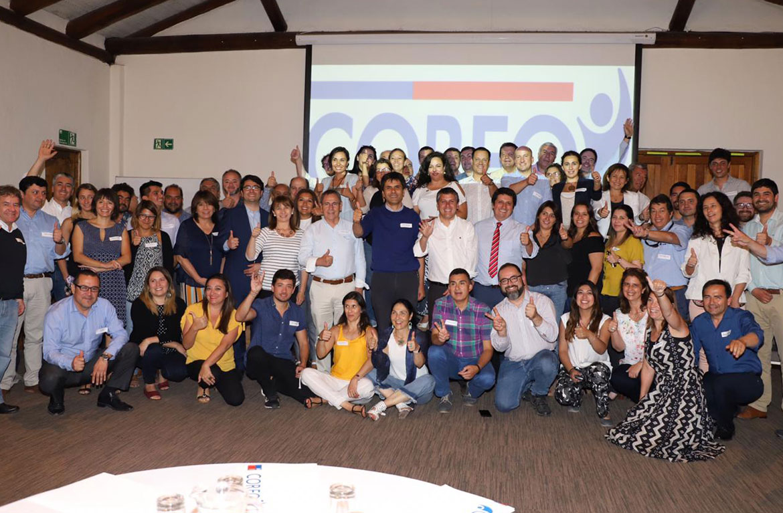 Encuentro nacional de Corfo reúne a 21 programas de desarrollo productivo en Santa Cruz